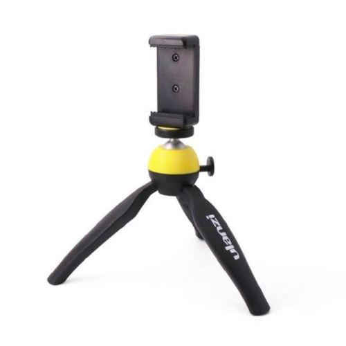 [해외]Vlogging 유튜브 라이브 스트리밍 아이폰 엑스 8 7 7plus 화웨이에 대한 Foleto 스마트 폰 탁상용 삼각대 클램프 홀더/Foleto Smartphone table tripodphone tripod clamp holder for Vlogging Yo