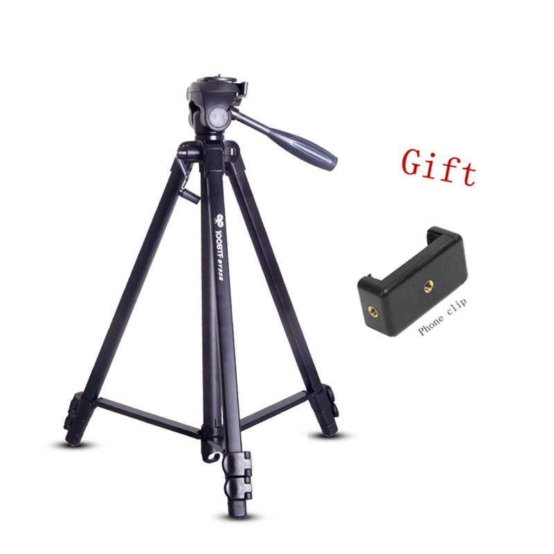 [해외]SLR DSLR 디지털 카메라 BY558의 높이를 조정하는 새로운 프로 1.51M 알루미늄 디지털 카메라 삼각대 1/4 나사 3 섹션/New Pro 1.51M Aluminum digital Camera Tripod 1/4 screw 3 section to adj