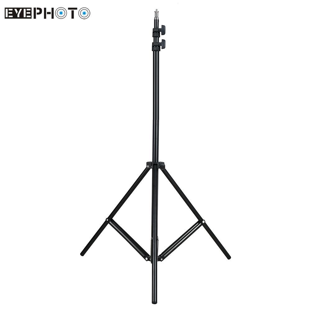 [해외]2m가 / 6.6 피트 라이트 스튜디오 사진 영상 조명이 Softbox 플래시 건 램프 우산 반사 배경에 대한 / 1 / 4 나사 승 삼각대 스탠드/2m/6.6ft Light Stand Tripod w/ 1/4& Screw for Studio Photo Vide