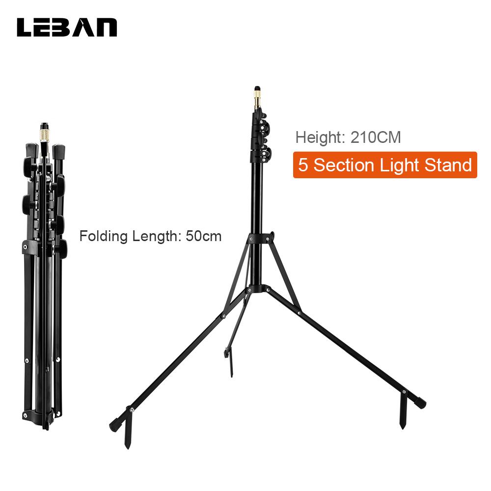 [해외]210cm 83 && 5- 섹션 리버스 레그 라이트 스탠드 리버스 폴드 스튜디오 포토 스탠드 포토 스튜디오 액세서리/210cm 83&& 5-Section Reverse Legs Light Stand Reverse Fold Studio Photo S
