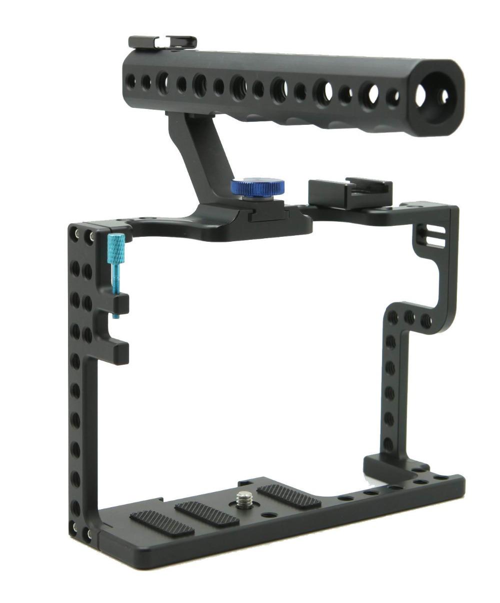 [해외]Panasonic Lumix GH5 카메라 용 F20577 용 DSLR 카메라 CageTop 핸들 그립/DSLR Camera CageTop Handle Grip For Panasonic Lumix GH5 Camera Rig F20577
