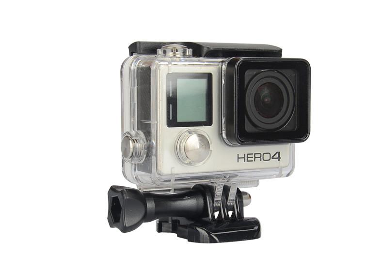 [해외]방수 케이스 앤티 - 안개 45M 다이빙 스포츠 하우징 박스 + GoPro Hero 3 + / 4 카메라 작동을유리 장착 Gopro 액세서리/Waterproof CaseAnti-Fog 45M Diving Sports Housing Box+Glass Mountin