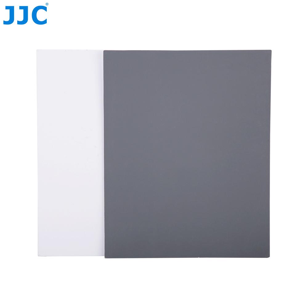 [해외]JJC 2x 8x10 및 화이트 밸런스 디지털 그레이 카드 2-in-1 DSLR SLR 카메라 정확한 컬러 밸런싱 도구 넥 스트랩/JJC 2x 8x10&White Balance Digital Gray Card 2-in-1 DSLR SLR Camera Accura