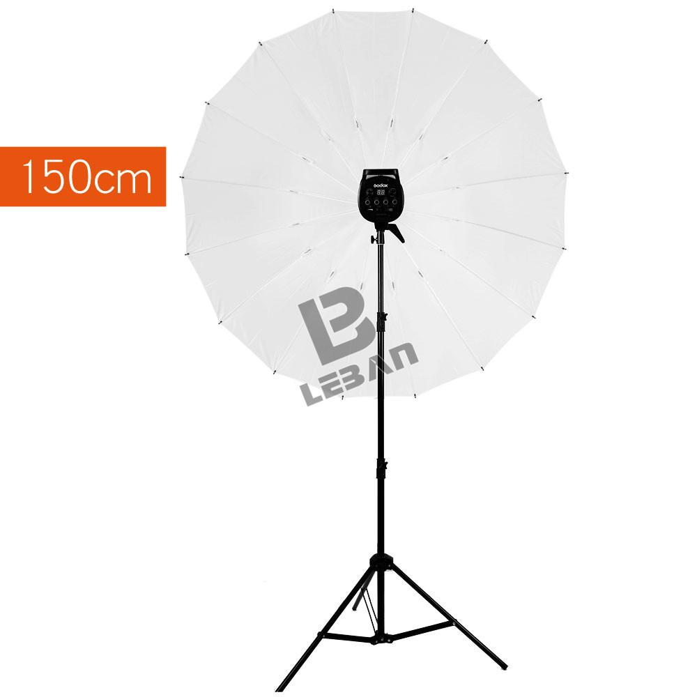 [해외]GODOX 우산 스튜디오 Photogrphy 60 & 150cm 화이트 소프트 라이트 조명 우산 + 2m 라이트 스탠드 + 타입 B/GODOX Umbrella Studio Photogrphy 60& 150cm White Soft light Lighting