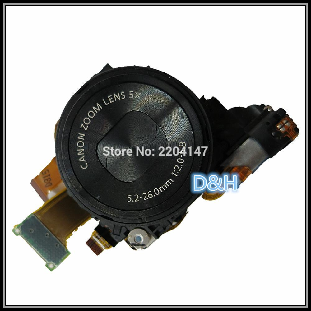 [해외]실버와 블랙 원래 렌즈 줌 유닛 캐논 파워 샷 S110 디지털 카메라 수리 부품 CCD 용/Silver and black  Original Lens Zoom Unit For CANON PowerShot S110 Digital Camera Repair Part