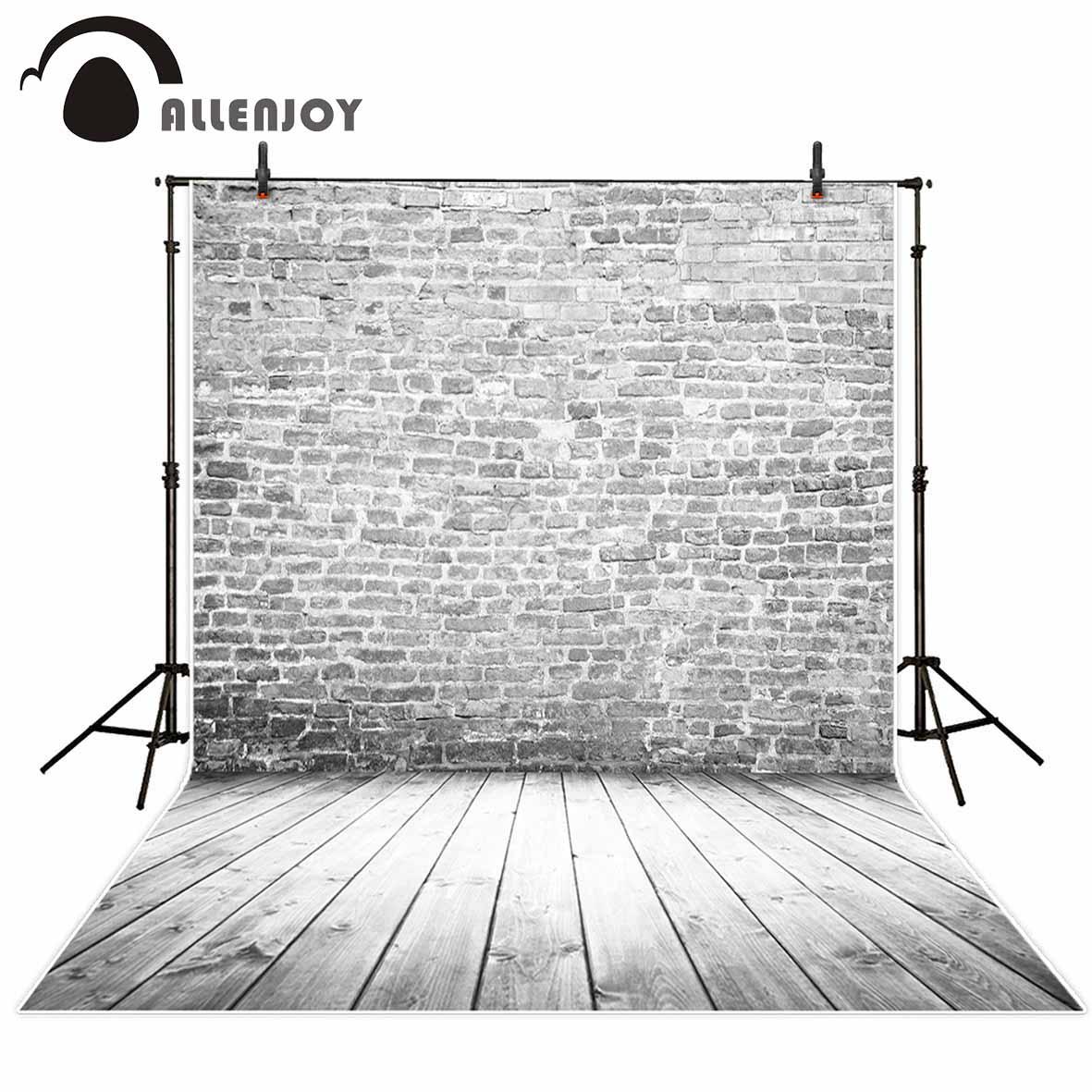 [해외]Allenjoy 사진 배경 흑백 필름 벽돌 벽 빈티지 클래식 세로 배경 photobooth 신생아 원래 디자인/Allenjoy photo backdrops Black and white film brick wall vintage classic portrait ba