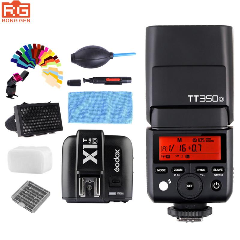 [해외]Godox TT350O TTL HSS1 / 8000S Olympus Panasonic DMC-GX85 GN36 카메라 플래시 스피드 라이트 DMC-G7 DMC-GF1 DMC-LX100 DMC-G85/Godox TT350O TTL HSS1/8000S GN36 Ca