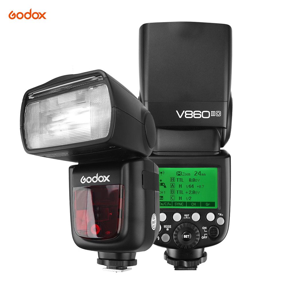 [해외]Godox VING V860IIO TTL 카메라 플래시 마스터 & amp; 올림푸스 파나소닉 용 슬레이브 플래시 스피드 라이트 2.4G 무선 X 시스템 1 / 8000s HSS GN60/Godox VING V860IIO TTL Camera Flash Ma