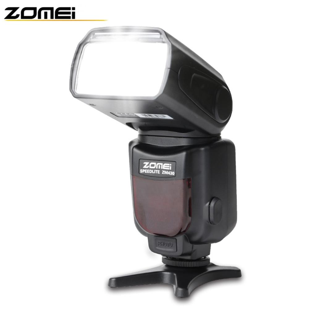 [해외]원래 Zomei 430 자동 전문가 S1 S2 빛 깜박이 매크로 스피드 라이트 손전등 LCD 화면 캐논 니콘/Original Zomei 430 Automatic Professional S1 S2 Light Flashing Macro Speedlight Flash