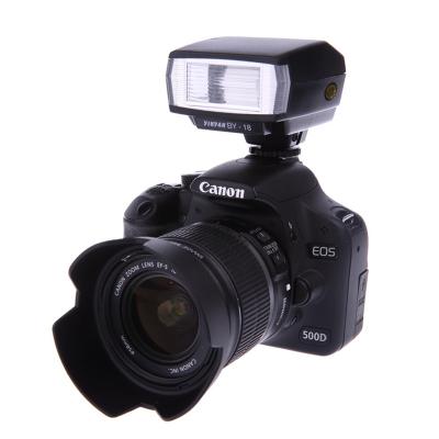 [해외]Nikon D3400 D7200 용 D-18 미니 플래시 스피드 라이트 D5500 D3300 D7100 D5300 D750 D90/BY-18 Mini Flash Speedlite For Nikon D3400 D7200 D5500 D3300 D7100 D5300