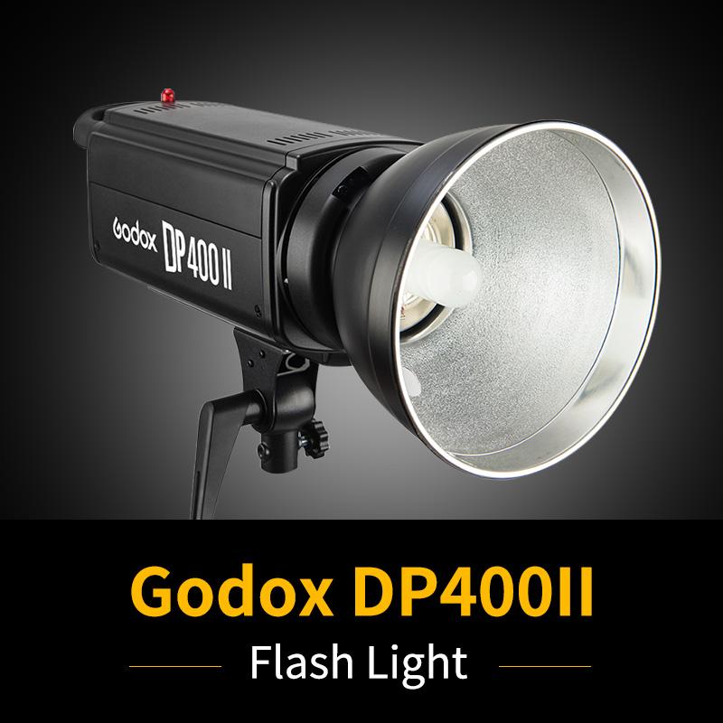 [해외]Godox DP400II 400W GN65 붙박이 Godox 2.4G 무선 X 체계 스튜디오 직업적인 섬광 400WSLamp와 표준 반사체/Godox DP400II 400W GN65 Built-in Godox 2.4G Wireless X System Studio