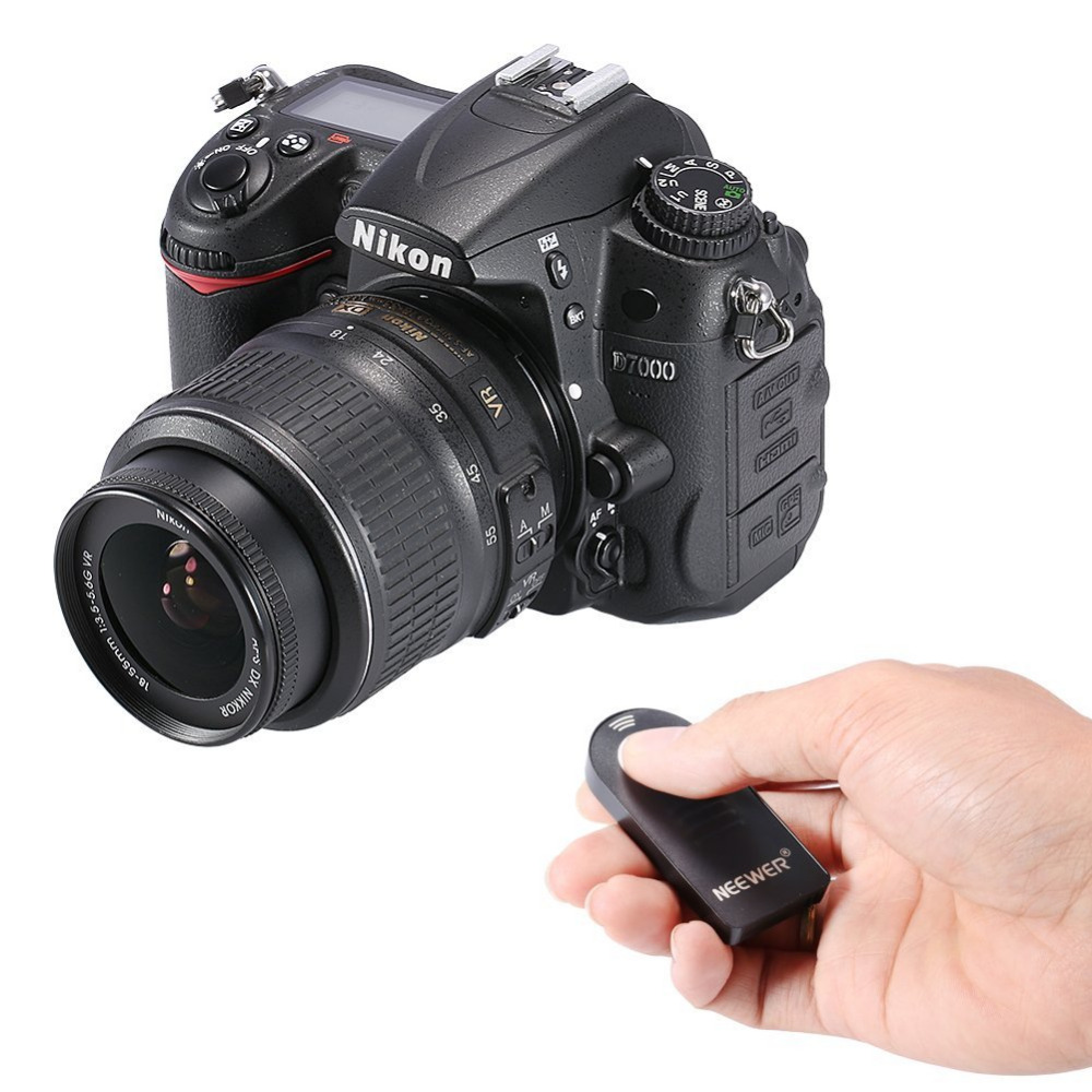 [해외]니어 무선 IR 리모콘 셔터 릴리즈 ML-L3 Nikon D5300, D3200, D5100, D7000, D600, D610, P7000, P7100/Neewer Wireless IR Remote Control Shutter Release ML-L3 For N