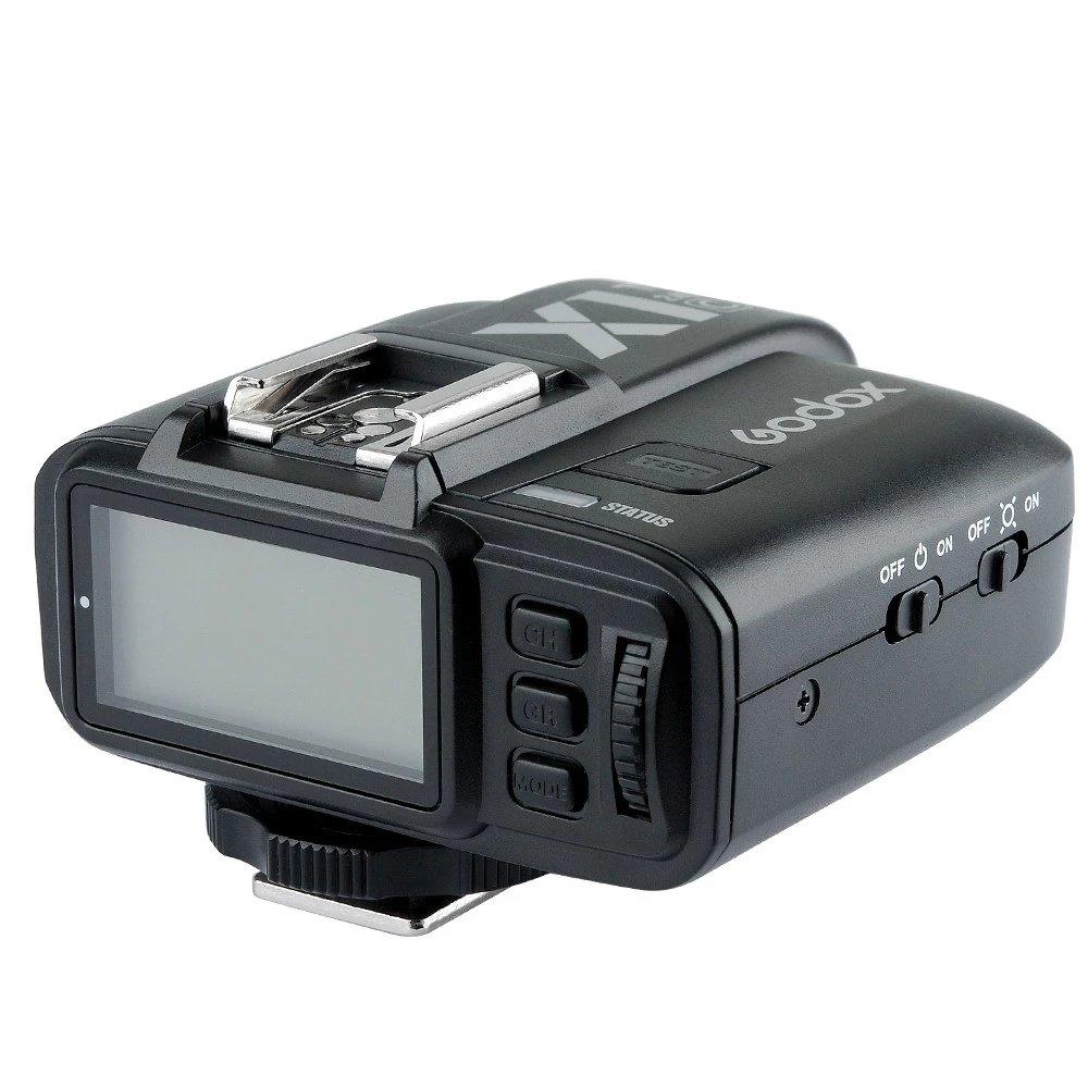 [해외]새로운 Godox X1T - C 캐논 750D 1200D 600D 700D 650D 100D 550D 500D 5D2 5D3 2.4 G E - TTL 무선 카메라 플래시 트리거 송신기/New Godox X1T-C 2.4 G E-TTL Wireless Camera