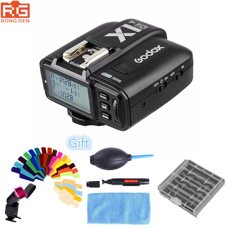 [해외]Godox X1T-O TTL HSS 1 / 8000s 2.4G 무선 X 시스템 제어 플래시 트리거 올림푸스 / 파나소닉 전용 송신기/Godox X1T-O TTL HSS 1/8000s 2.4G Wireless X System Control Flash Trigger