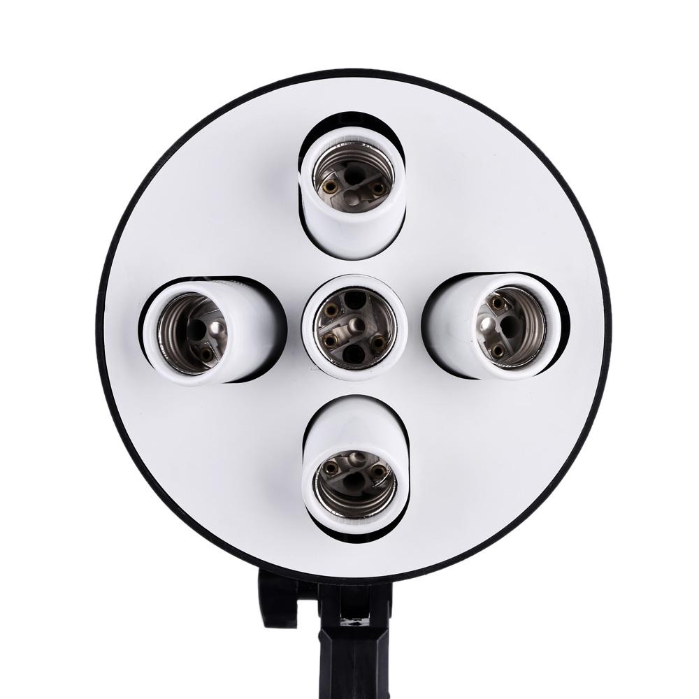 [해외]포토 비디오 스튜디오 Softbox에 대 한 1 E27 자료 소켓 램프 전구 홀더 어댑터에 5/5 in 1 E27 Base Socket Light Lamp Bulb Holder Adapter for Photo Video Studio Softbox