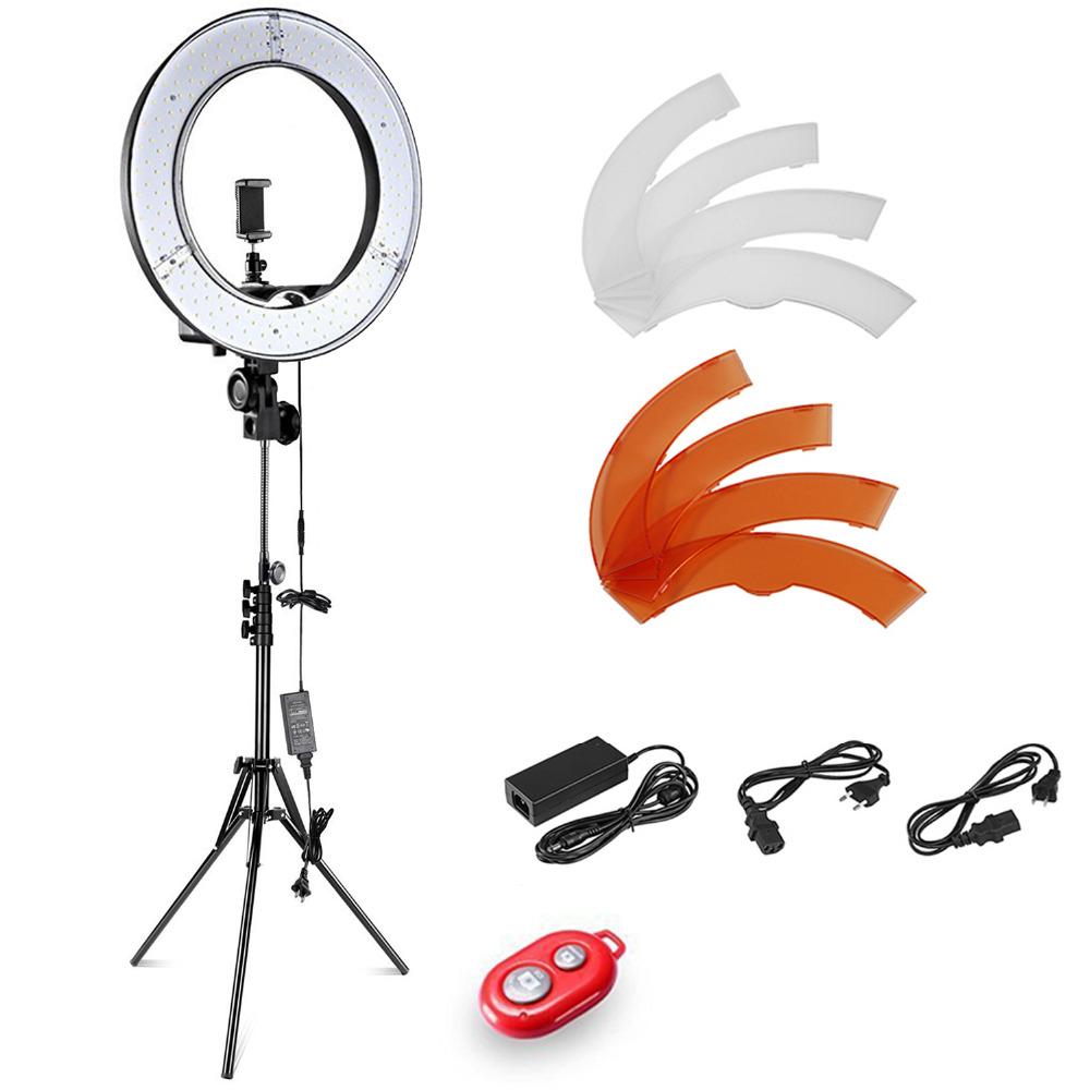 [해외]Neewer 12 인치 내부 14 인치 외부 링 조명 + 라이트 스탠드 36W 5500K 조명 키트 소프트 튜브 컬러 필터 led 빛/Neewer 12-inch Inner 14-inch Outer led Ring Light+Light Stand 36W 5500K
