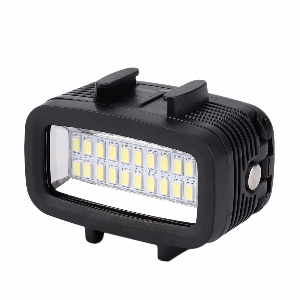 [해외]Protable 방수 주도 밝은 수 중 30 M LED 비디오 빛 액션 카메라 다이빙 램프 GOPRO에 적합/Protable Waterproof  led  light Bright Underwater 30M LED Video Light Action Camera D