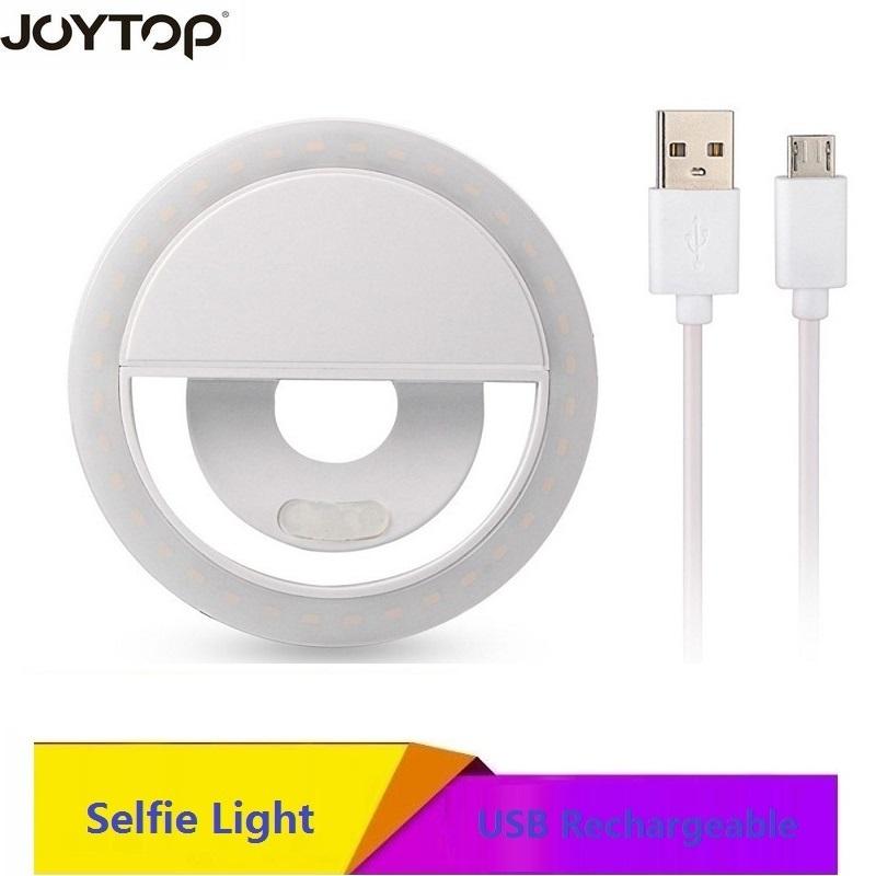 [해외]JOYTOP usb 플래시 링 빛 충전식 led 빛 향상 사진 조명 luces 전화 노트북 selfie 반지 빛에 대 한 주도/JOYTOP usb flash ring light rechargeable led light enhancing photography li