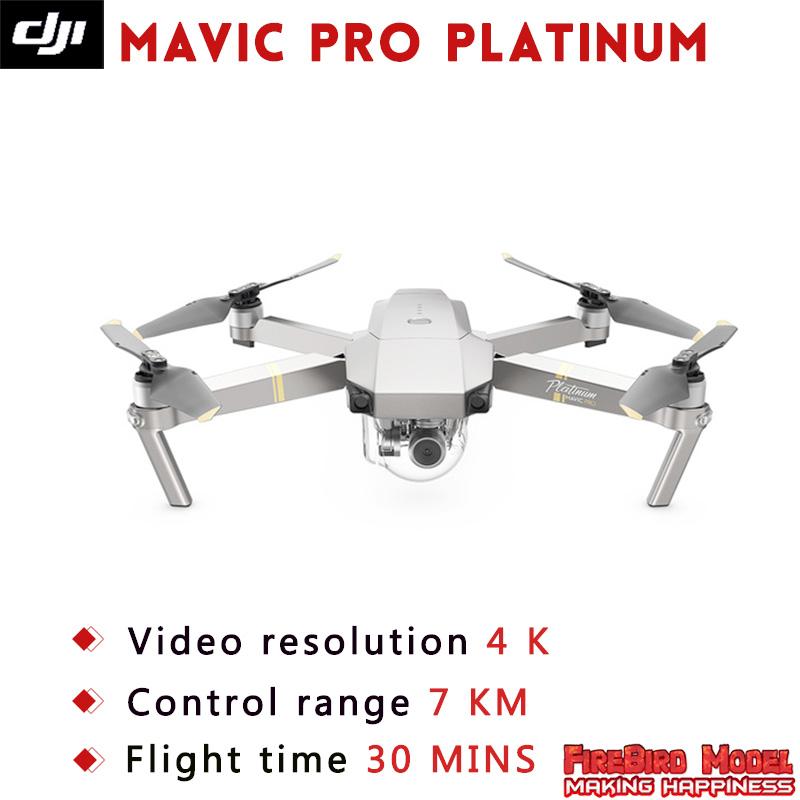[해외]IN StockOriginal DJI Mavic 프로 플래티넘 FPV Drone4K 비디오 1080p 카메라 RC 헬리콥터 비행 시간 30 MIN 조용한 비행/IN StockOriginal DJI Mavic pro Platinum FPV Drone4K video