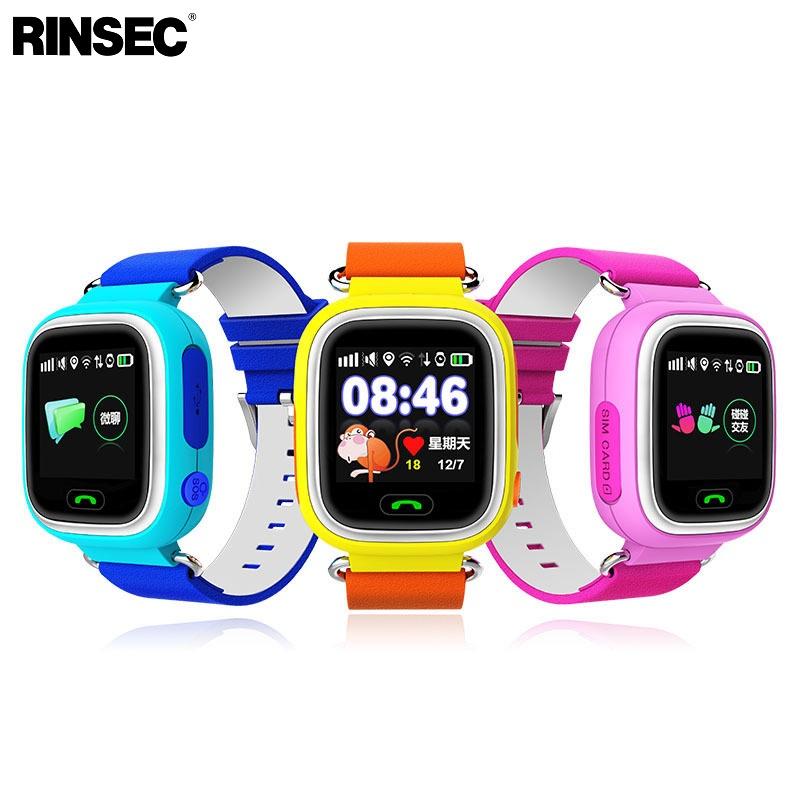 [해외]Rinsec Q90 GPS 와이파이 아이 스마트 시계 안티 - 분실 안전 귀여운 아이 시계 조난 신호 호출 위치 알림 아이폰에 대한? ? ???? ??/Rinsec Q90 GPS WIFI Child Smart Watch Anti-lost Safety Cute K