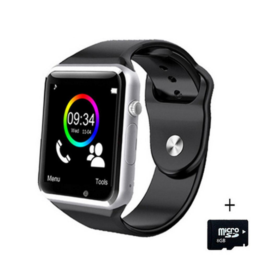 [해외]A1 WristWatch Bluetooth 스마트 시계 스포츠 보수계 추적자 Sync Smartwatch를 위해? ? ???? ?? 스마트 폰 러시아 T15 PK DZ09 GT08 Y1/A1 WristWatch Bluetooth Smart Watch Sport
