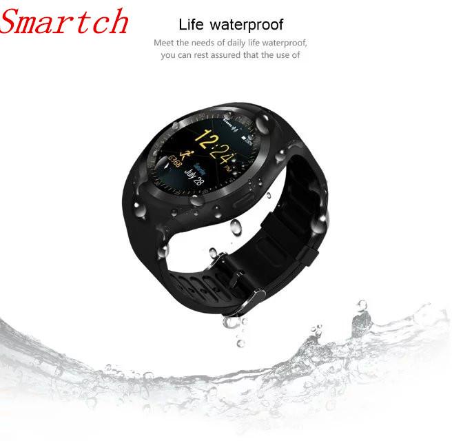 [해외]Smartch Sport Bluetooth Smart Watch? ? ???? ?? Shake Hand Wake Up 화면 지원 Facebook Whatsapp TF SIM Smartwatch GV18 W8 Q/Smartch Sport Bluetooth Smar