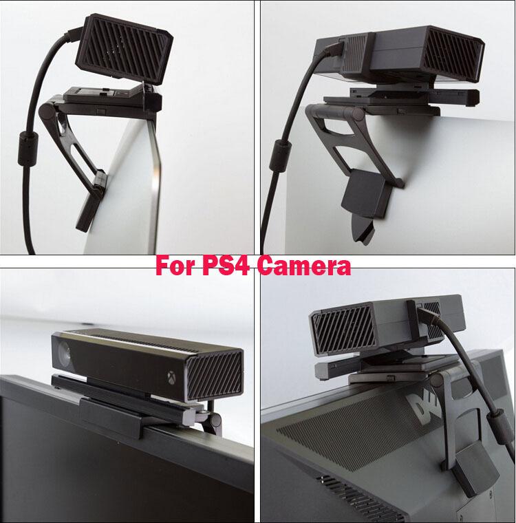 [해외]플레이 스테이션 PS4 아이 카메라 센서 홀더 스탠드에 대한 PS4의 TV 클립 마운트 클램프 접이식 Braket/PS4 TV Clip Mount Clamp Foldable Braket for PlayStation PS4 Eye Camera Sensor Stan