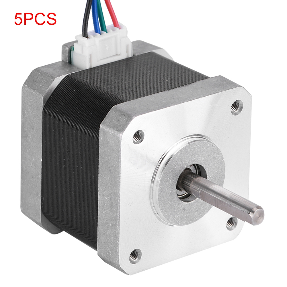 [해외]BYGH40 1.68A 5PCS Two-Phase High Torque 42 Stepper Motor For 3D Printer / CNC Accessories On /BYGH40 1.68A 5PCS Two-Phase High Torque 42 Stepper M
