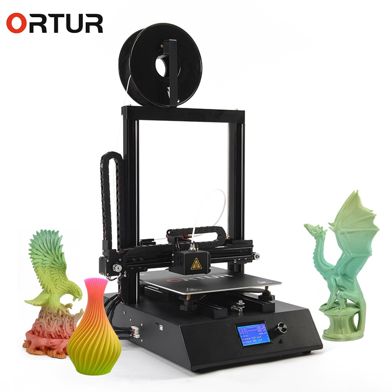 [해외]New Invention 2019 Ortur4 Overheating Protection Imprimante 3d 25 Points Hotbed Autoleveling 3d Drucker Resume Print 3d Printer/New Invention 2019