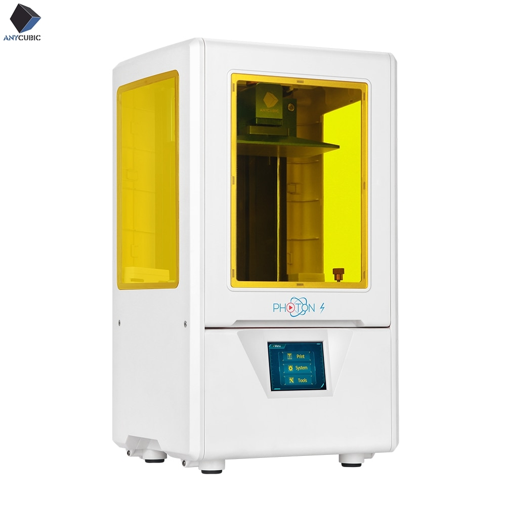 [해외]2019 Anycubic Photon-S Photon 3D Printer Plus Size SLA/LCD High Precision Slicer Light-Curing Impresora Imprimante 3d Kits/2019 Anycubic Photon-S