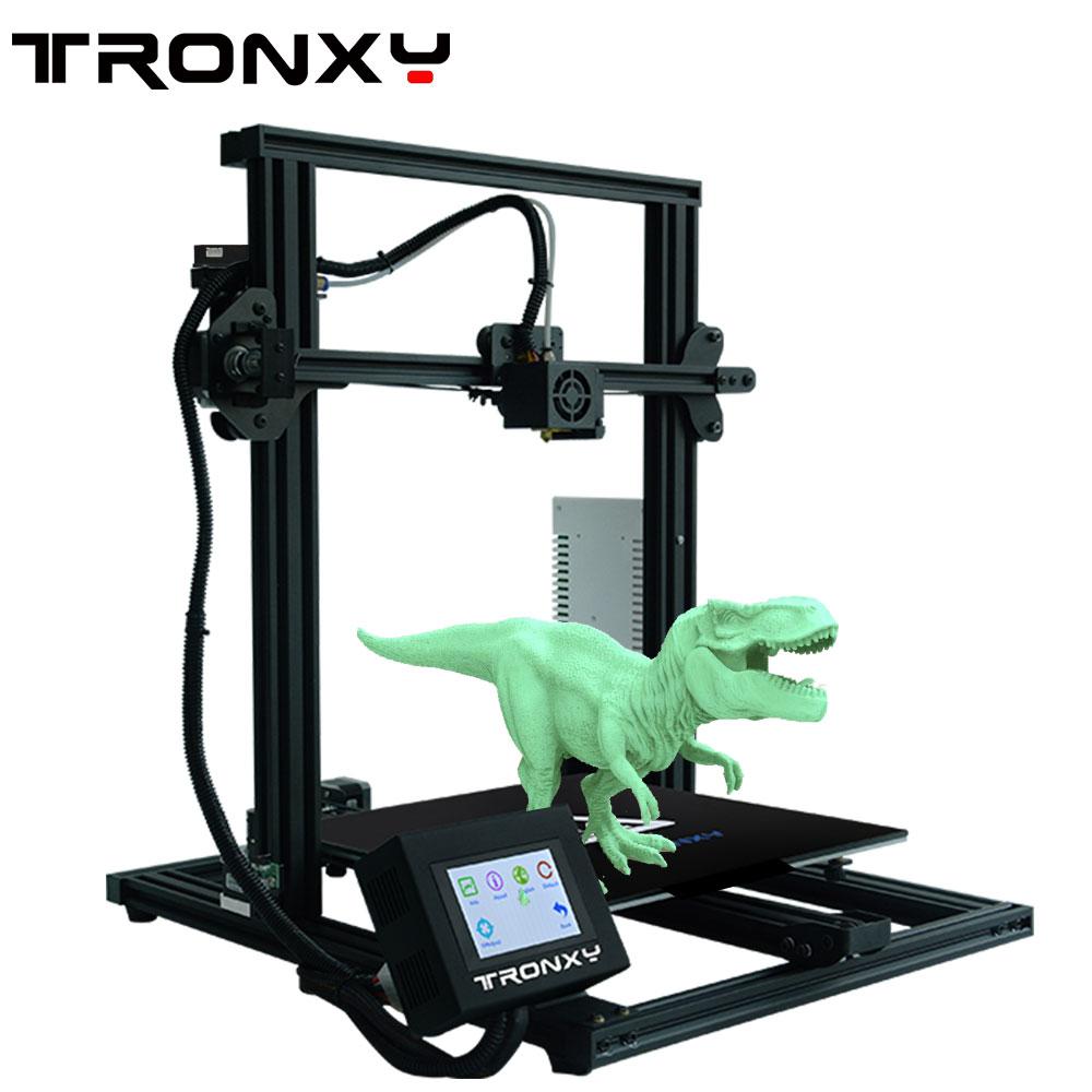[해외]Tronxy 2019 Upgraded Quality High Precision Reprap 3D printer DIY kit XY-3resume printing/Tronxy 2019 Upgraded Quality High Precision Reprap 3D pr