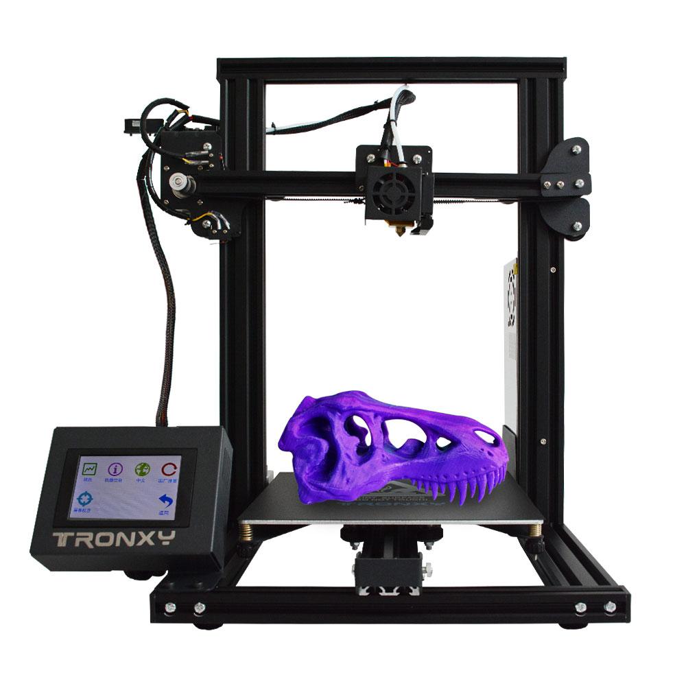 [해외]Tronxy XY-2 Fast Assembly Full metal 3D Printer 220*220*260mm High printing Magnetic Heat Paper 3.5 Inches Touch Screen /Tronxy XY-2 Fast Assembly