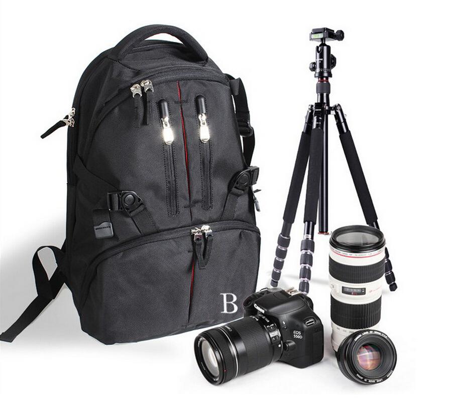 [해외]카메라 가방 케이스 배낭 나일론 방수 백 DSLR SLR 플래시 삼각대 용 커버/Camera Bag Case Backpack Nylon Waterproof BagRain Cover for DSLR SLR Flash Tripod