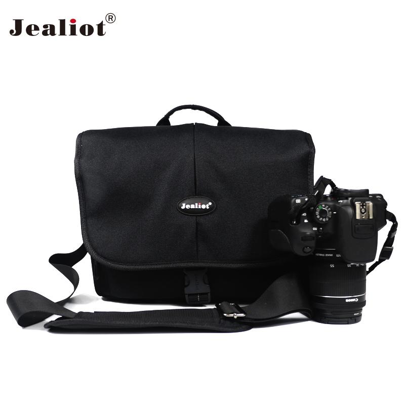 [해외]Jealiot Professional 카메라 가방 DSLR의 어깨 가방 방수 디지털 카메라 렌즈 케이스 Canon Nikon의 비디오 사진/Jealiot Professional Camera bag DSLR shoulder bag waterproof digital