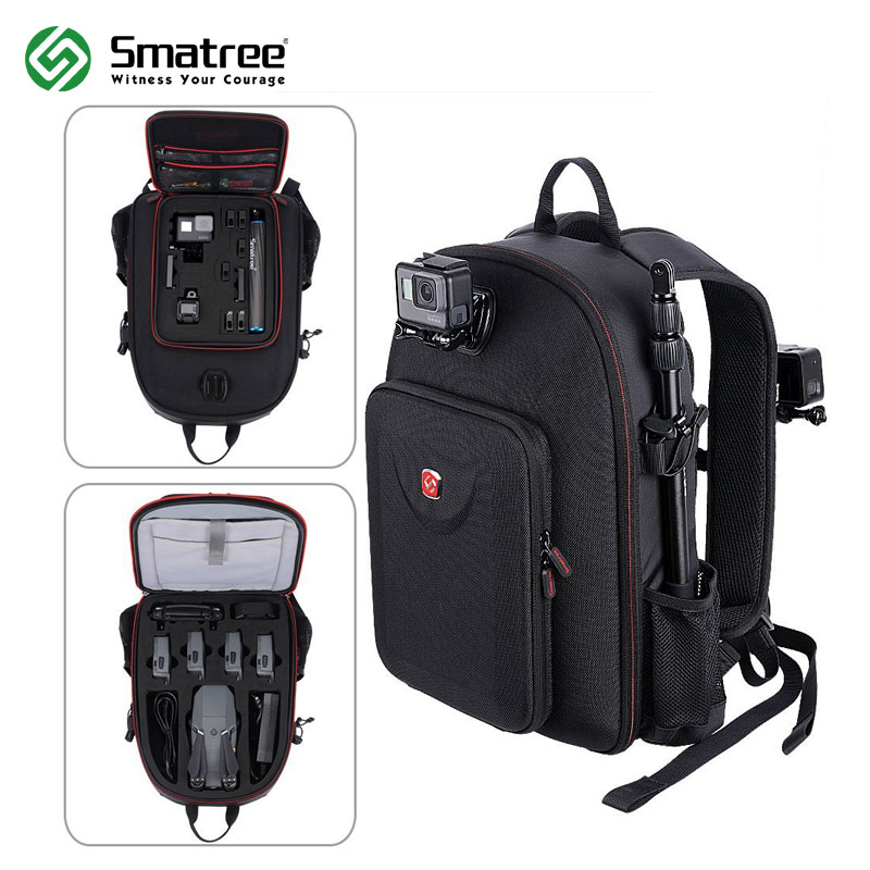 [해외]DJI Mavic Pro / GoPro Hero 세션 / Hero 6 / 5 / 4 / 3 / 2 / 1 / Tablet PC 용 Smatree 방수 배낭/Smatree Water-resistant Backpack for DJI Mavic Pro/GoPro He