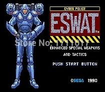 [해외]창세기를 들어 세가 메가 드라이브 용 Eswat 16 비트 MD 게임 카드/Eswat  16 bit MD Game Card For Sega Mega Drive For Genesis