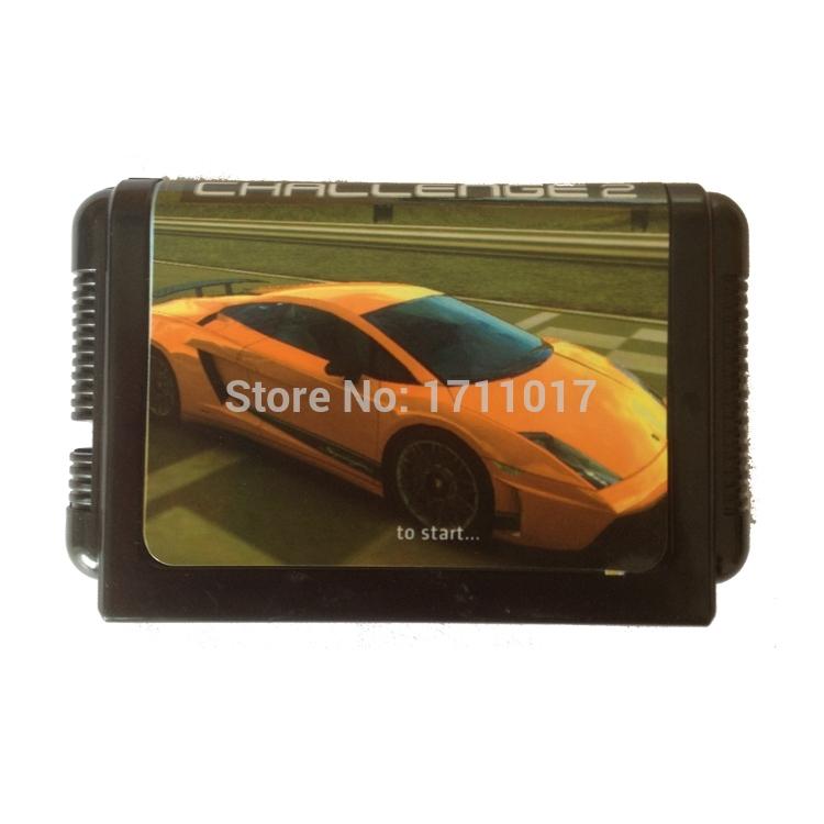 [해외]창세기를 들어 세가 메가 드라이브 용 터보 도전 16 비트 MD 게임 카드/Turbo Challenge 16 bit MD Game Card For Sega Mega Drive For Genesis