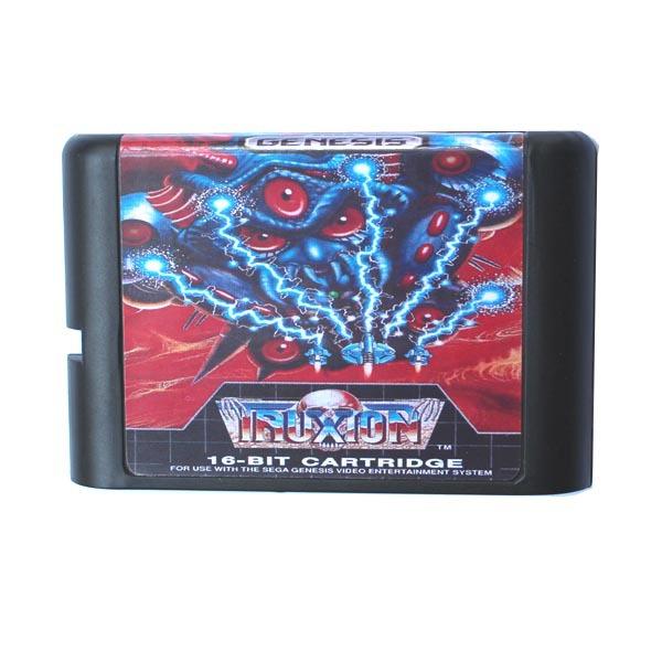 [해외]세가 MD 게임 카드 - 16 비트 세가 MD 게임 카트리지 메가 드라이브 창세기 시스템 Truxton/Sega MD game card - Truxton for 16 bit Sega MD game Cartridge Megadrive Genesis system