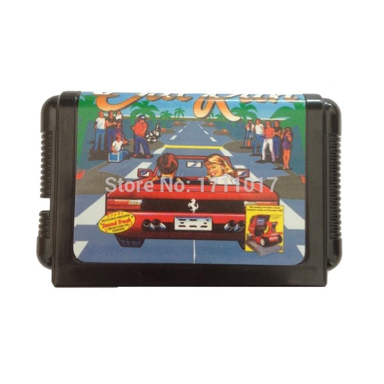 [해외]창세기를 들어 세가 메가 드라이브 용 크레이지 카트 16 비트 MD 게임 카드/Crazy Kart  16 bit MD Game Card For Sega Mega Drive For Genesis