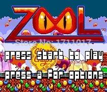 [해외]창세기를 들어 세가 메가 드라이브 용 Zool 16 비트 MD 게임 카드/Zool  16 bit MD Game Card For Sega Mega Drive For Genesis