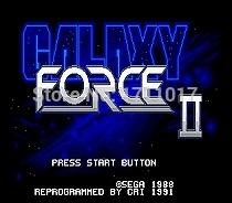[해외]창세기를 들어 세가 메가 드라이브 용 갤럭시 포스 II JP 셸 16 비트 MD 게임 카드/Galaxy Force II JP Shell 16 bit MD Game Card For Sega Mega Drive For Genesis
