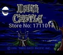 [해외]창세기를 들어 세가 메가 드라이브 용 다크 캐슬 16 비트 MD 게임 카드/Dark Castle  16 bit MD Game Card For Sega Mega Drive For Genesis