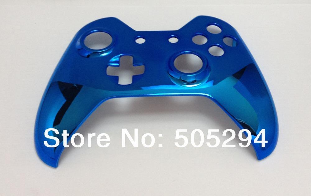 [해외]X 박스에 대한 하나의 컨트롤러의 새로운 크롬 블루 컨트롤러 주택 쉘 - 소라/, for Xbox one controller New Chrome Blue Controller Housing Shell  - Top Shell