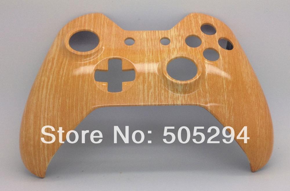 [해외]원래 전면 쉘 - 핑 (ping), X 박스에 대한 하나의 컨트롤러 하이드로만으로는 컨트롤러 쉘 모드를 담근/ping, for Xbox one controller Hydro Dipped  Woodgrain Controller Shell Mod - Original