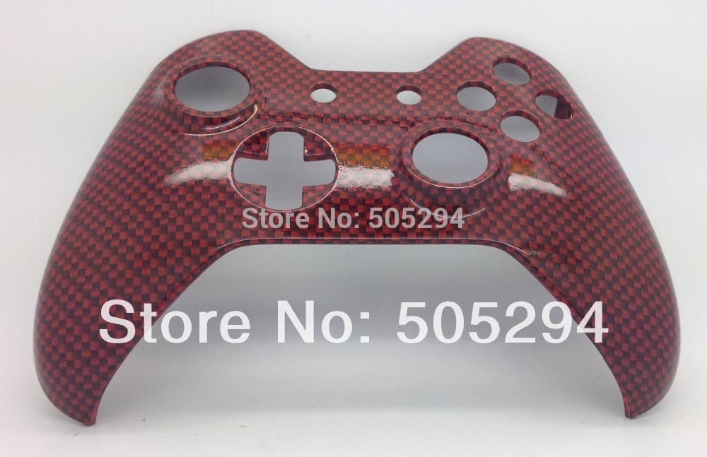 [해외]원래 전면 쉘 - 핑 (ping), X 박스에 대한 하나의 컨트롤러 하이드는 탄소 섬유 컨트롤러 쉘 모드를 담근/ping, for Xbox one controller Hydro Dipped  CARBON FIBER Controller Shell Mod - Ori