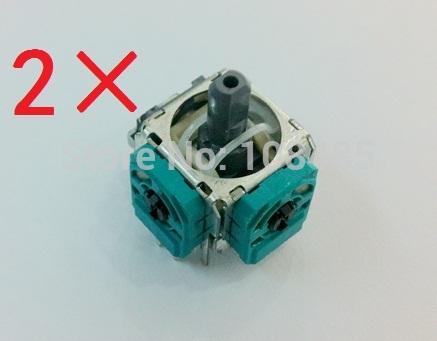 [해외]X 박스 하나의 무선 컨트롤러 2PCS / 로트 조이스틱 3D 아날로그 센서/Joystick 3D Analog Sensor for XBOX ONE wireless Controller 2pcs/lot