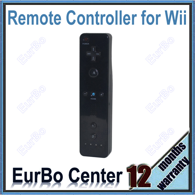 [해외]EurBo이 Wii에 많은 리모트 컨트롤러를 10PCS (블랙)/EurBo 10pcs a lot Remote Controller for Wii (Black)