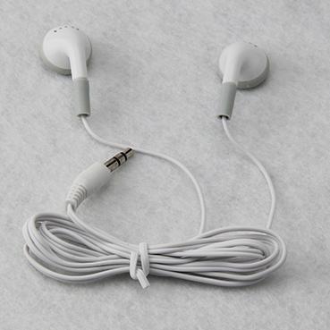 [해외]버스 나 기차 또는 비행기 한 번 사용 100PCS / 많은 흰색 저렴한 일회용 이어폰 / 헤드폰 / 헤드셋/Wholesale white Cheapest disposable earphones/headphone/headset for bus or train or p