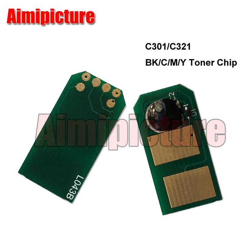 [해외]토너 카트리지 칩 C301 C321 MC332 MC342 342dn 44973536 44973535 44973534 44973533 OKI C301 / C301dn / C321dn / MC332 / MC342/Toner Cartridge Chip C301 C32