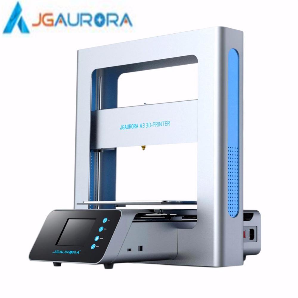 [해외]JGAURORA 3D 프린터 풀 메탈 프레임 고정밀 205 * 205 * 205mm 인쇄 크기 LCD 터치 스크린 디스플레이 미국 영국 EU AU 플러그/JGAURORA 3D Printer Full Metal Frame High Precision 205*205*